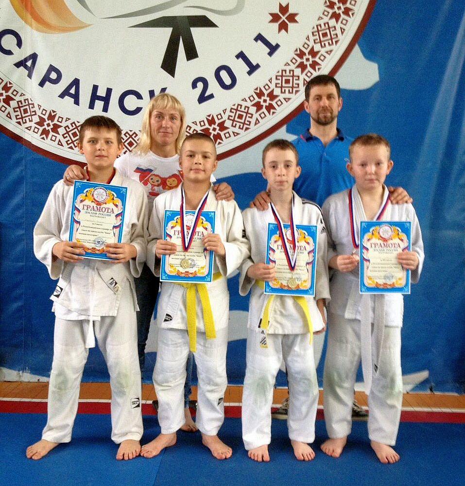 Пензенские дзюдоисты завоевали в Саранске 13 медалей